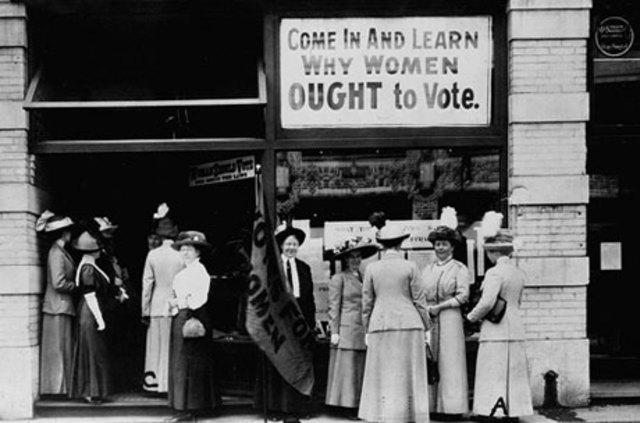 Women's suffrage in the Senate