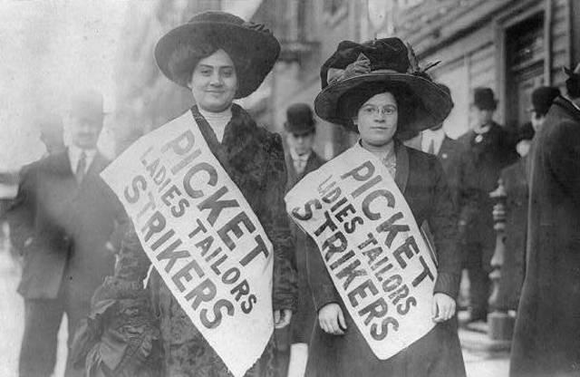Women Garmet Strike.