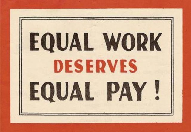 Equal Pay Act Gains Passage