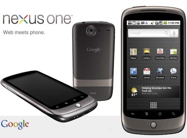 Teléfono Móvil Nexus One