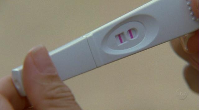 Prueba de embarazo (Positiva)