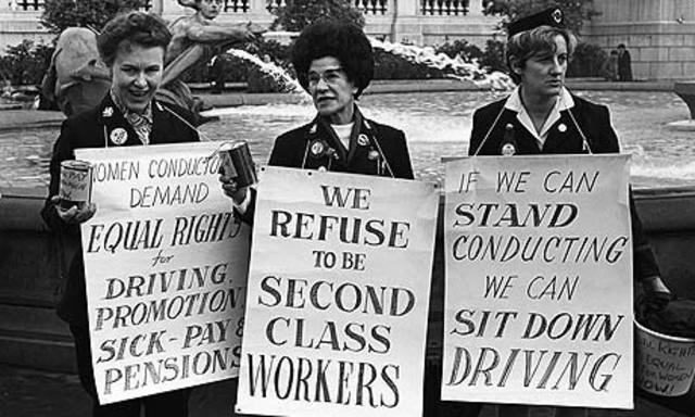 The Fall of Women's Wages