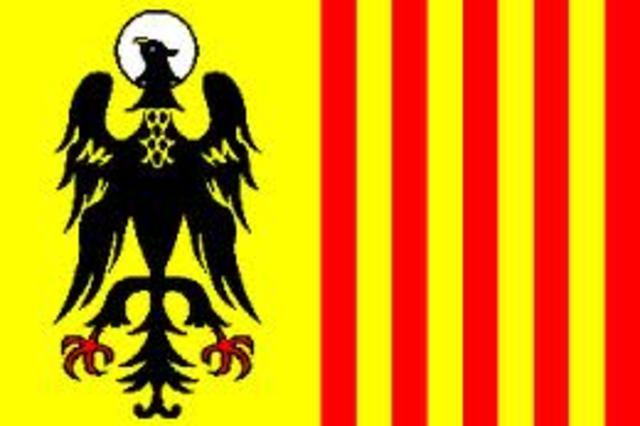 Explica el simbolo de la bandera
