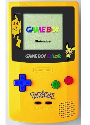 ¡La Game Boy Color!