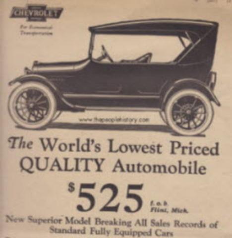 Chevrolet - $525