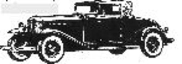 Auburn Convertible Cabriolet - $1045