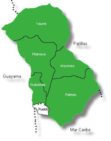 topografia del pueblo de Arroyo