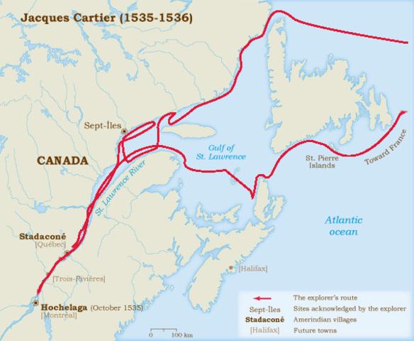 Jaques Cartier's Second Voyage