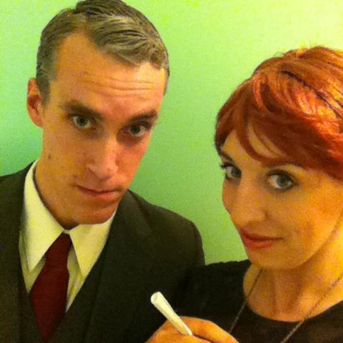 Roger & Joan do Halloween