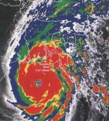 Ciclon Bhola de Bangladesh