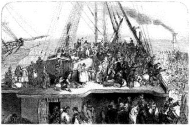 Irish Mass Immigration