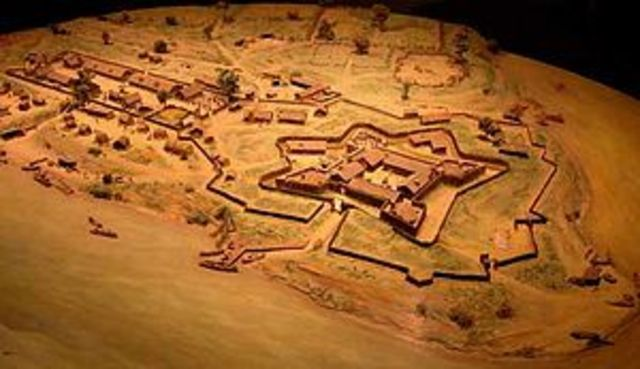 The French Build Fort Duquesne