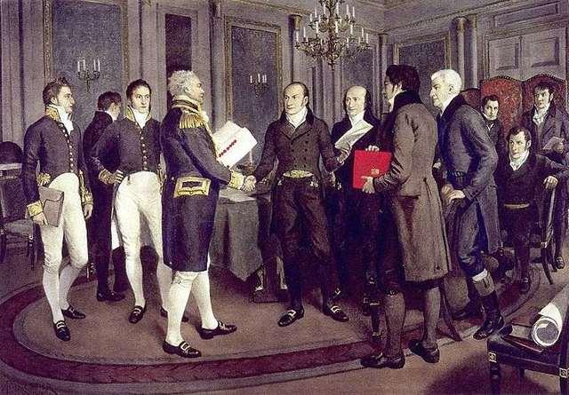 Reciprocity treaty with the U.SA is signed