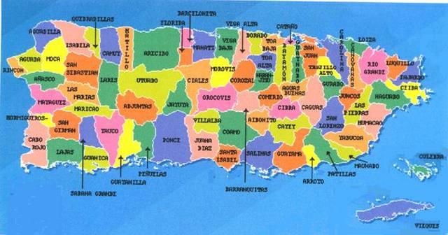 pueblos que colindan al pueblo Arroyo