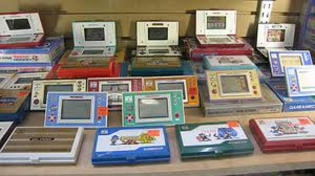 Nintendo created the nintendo game and watch handheld game