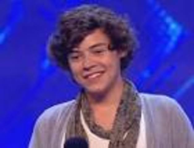 Harry Styles auditioned for Xfactor