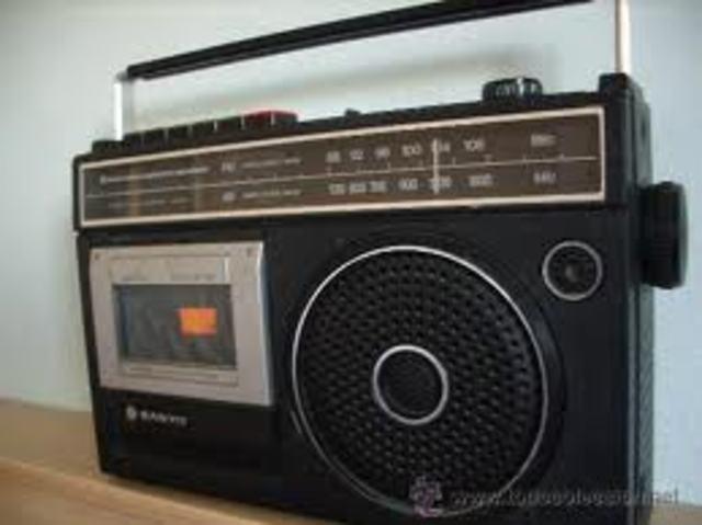 Radio casette 1 padre Ana