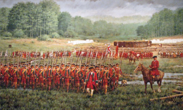 The Battle of Fort Necessity