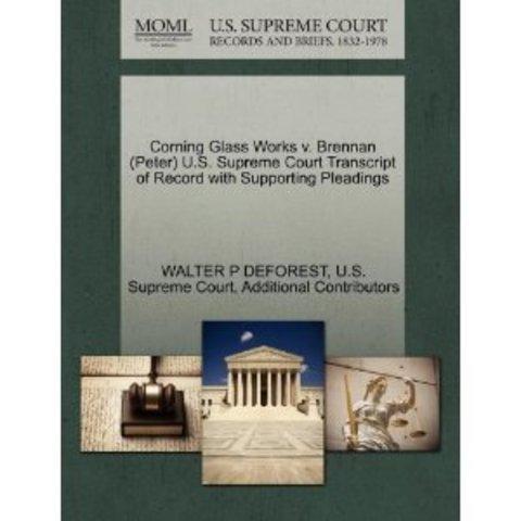 Corning Glass Works v. Brennan