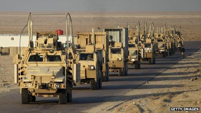 U.S.A. Leaves Iraq