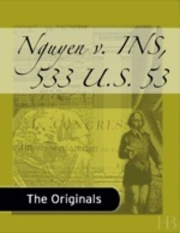 Nguyen v. INS