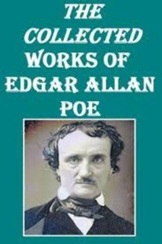 Poe writes his first poem.