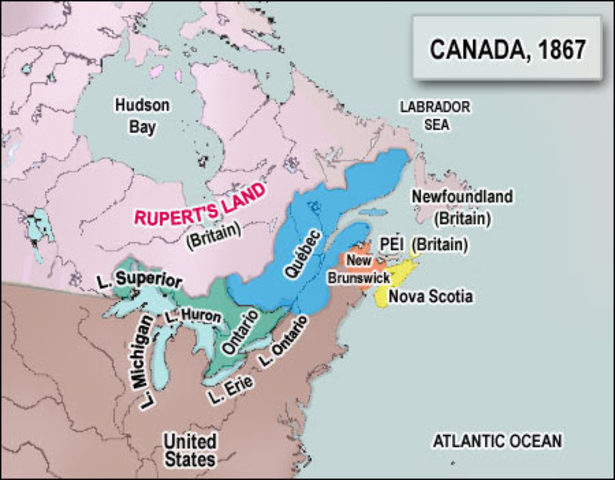 British North American Act is created