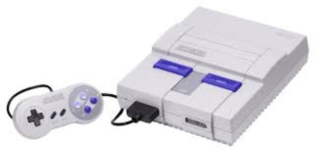 Nintendos Super Nintendo Entertainment system was released