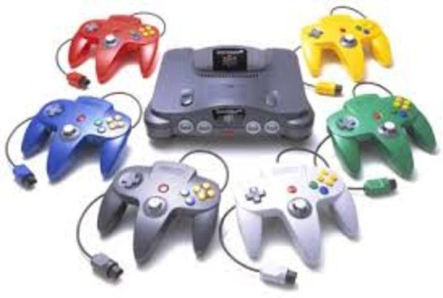 The nintendo 64 was released in america
