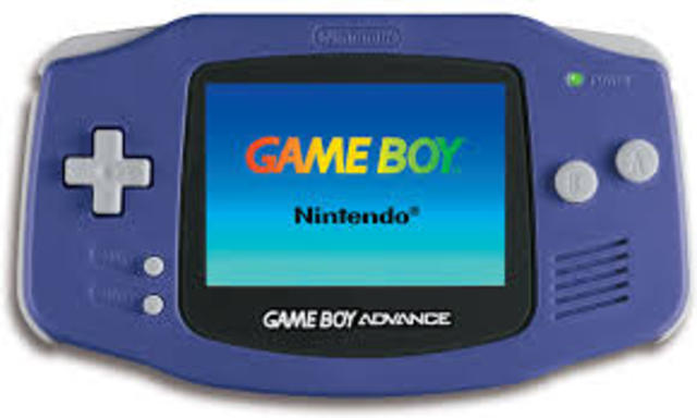 The gameboy color, pocxket, and advance were released