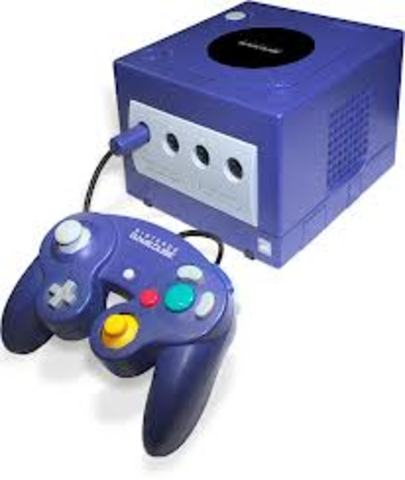 The gamecube was released