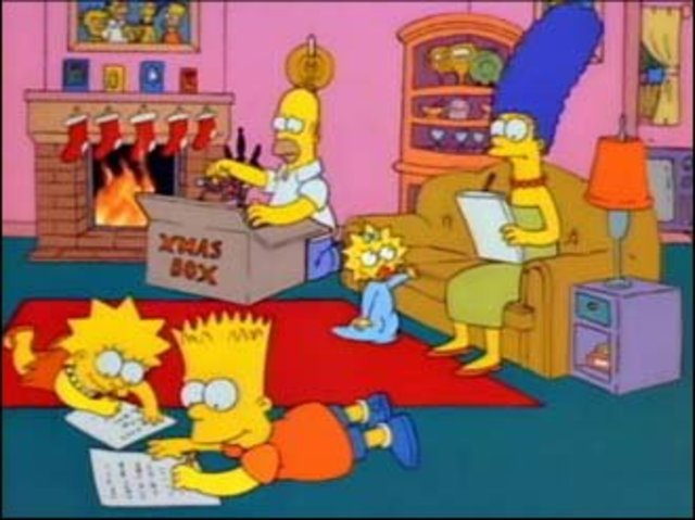Fox Broadcasted a Simpsons Christmas Special