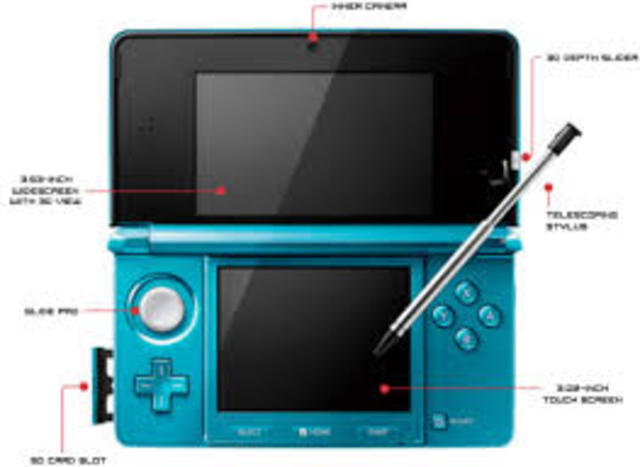 The nintendo 3ds was released