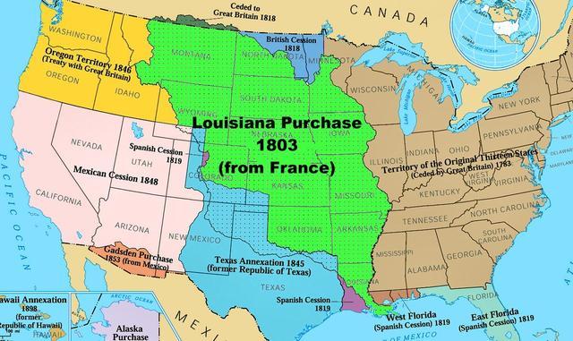 The Louisana purchase
