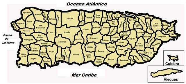 pueblos que colindan con Sabana Grande