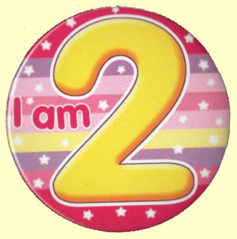 My 2nd Birthday! At this time I can,,,