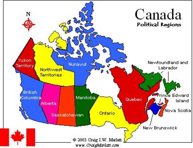 Growth of Canada (Post Confederation)