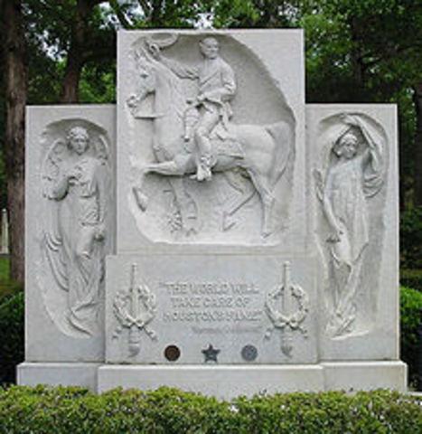 Sam Houston's Death