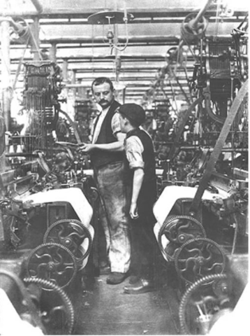 Working  and Living Conditions during First Phase Industrialization