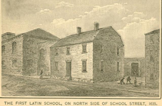 Boston Latin School is established.