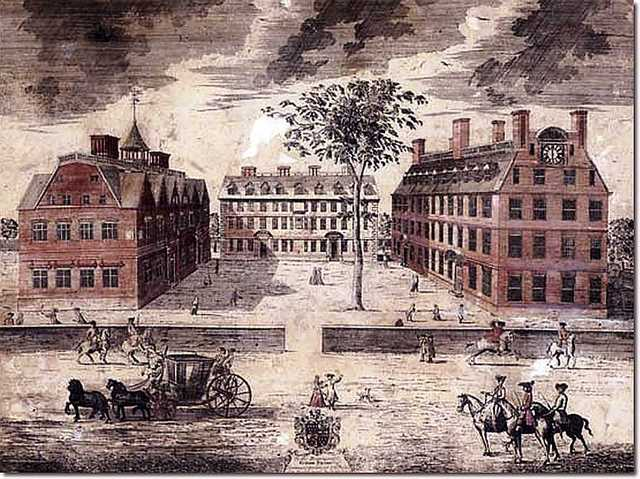 Harvard College is established.