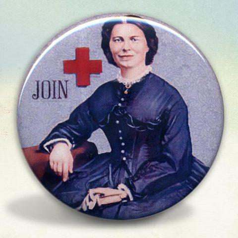 Clara Barton Forms the American Red Cross