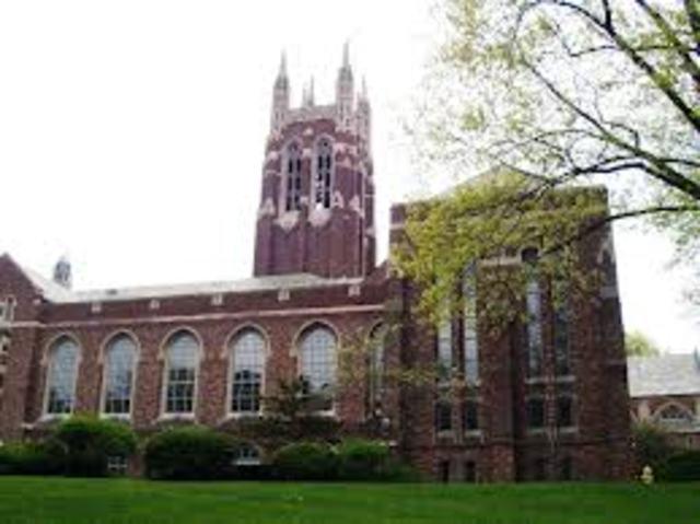 King enrolls in Crozer Theological Seminary in Chester, Pennsylvania.