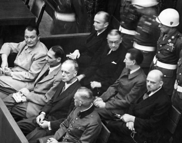 Nuremburg Trials 1945-1949