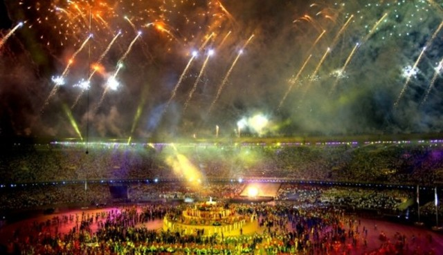 Abertura dos jogos Pan-Americanos