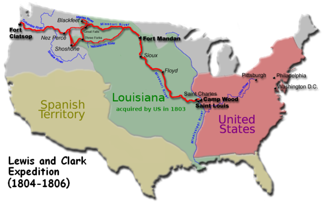 The Lewis and Clark Exploration