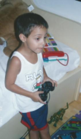 Tiago - Primeiro videogame