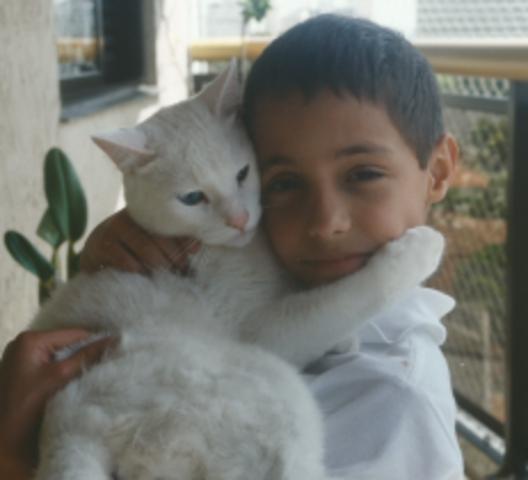 Tiago - O primeiro animal de estimação
