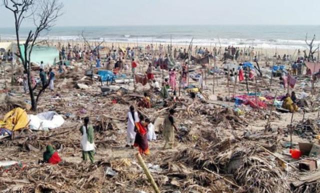 Terremoto e tsunami matam mais de 398.000 pessoas