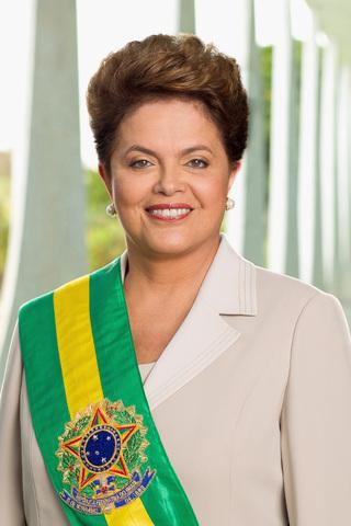 Dilma Rousseff assume a presidencia do Brasil
